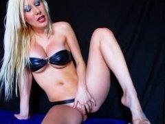 blonde in bikini joi