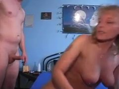 2 moms play with a guy