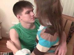 Wonderful teen sex scene