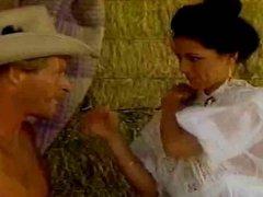 cowboy gets lucky. retro clip