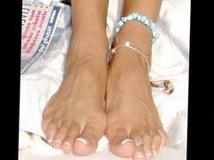 Victoria Beckham feet compilation