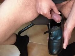 Cum in my Mary Janes Shoes 3 models