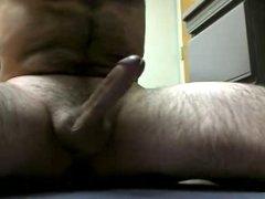 cumming with a dildo