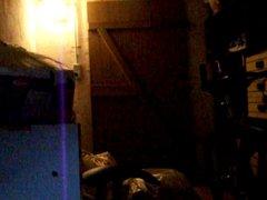 Im Keller gewichst