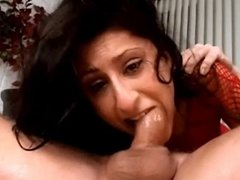 young chick gets face fucked