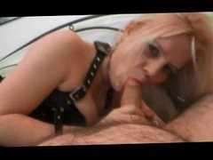 British Blonde Fuckmeat Takes My Load