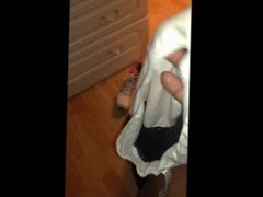jayne in from then gym,s dirty panties
