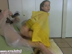 WEBCAM: Roman Sandals Condom Ponchos