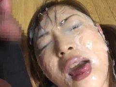 japan shoolgirl bukkake