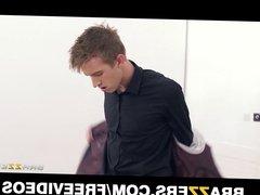 Curvy tango dancer seduces a married man during their lesson