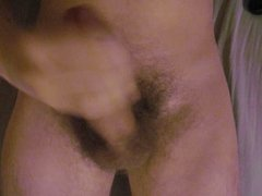 Jerking and getting myself off. Cum on chest.