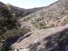 outdoor self fisting (strak)