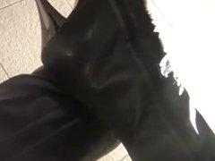 Overknees und Hot pants