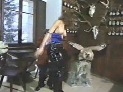 Thigh boots and opencrotch pvc pants (Black Hammer 3)