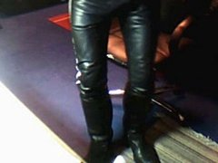 Me in leather outfit