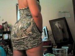Booty Shakin Under Dress
