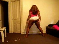 BBW Ebony Shaking
