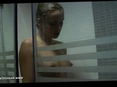 Andrea Osvart great nude in the shower - Two Tigers - HD