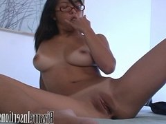 Cute Asian with Her Dildo