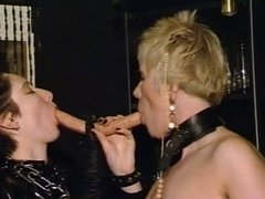 Mature lesbians toying each other