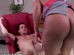 Ebony slut gets bent over