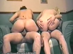 Home made porn film with a foursome