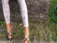 LGH - Tamia Leggins und 18cm High Heels