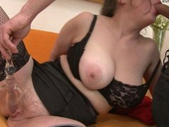 Chubby mama loves to fuck hard and long