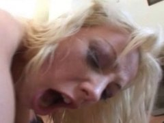 hot blonde get double anal and 2 facials