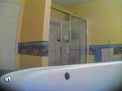 Steph hidden shower