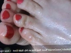 Turkish CrossDresser Buse Naz Arican - My Bare Feet