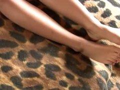 Beautiful teen blonde masturbate to orgasm