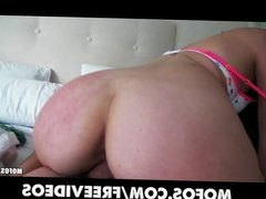 Nagging GF gets talked into some sloppy sex in her hotel