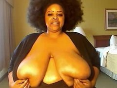Kristy Love exercises her size H titties