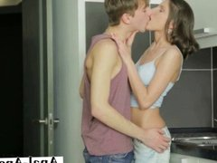 Amazing sex action with her new lover boy
