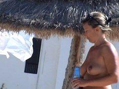 incredible french girl nude topless beach tunesia