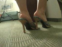 Kayla talks about feet