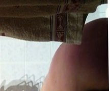 hidden cam naked wife in the shower part2