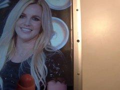 Cum on Britney Spears 8