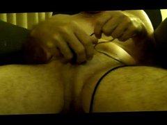 Tied shaking balls