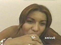 Devina long nails blowjob POV
