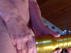 Fucking my Fleshlight (HAPPY WANKING 21)