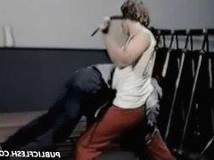 Classic OTK Gay Spanking