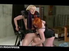 Lezdom Spanked Until She Squirts