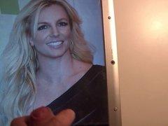 Cum on Britney Spears 11