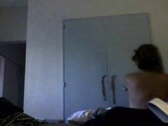 la espalda blanca de mi mujer