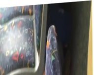 2 girl in bus