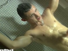 Teen Guy Gets Handjob in the Spa