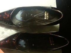 cumming on stuart weitzman heels from friends wife