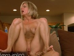 Dirty mature housewife sucks and gets fucked anal